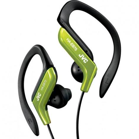 JVC Sports Ear-Clip Headphones, Green
