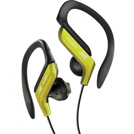 JVC Sports Ear-Clip Headphones, Yellow