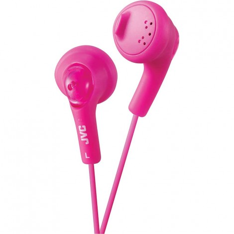 JVC Gumy Earbuds, Pink