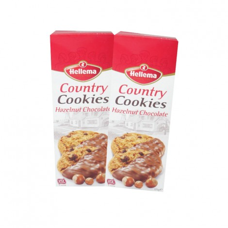 Hellema Country-Cookies-Assorted - 2x175gm