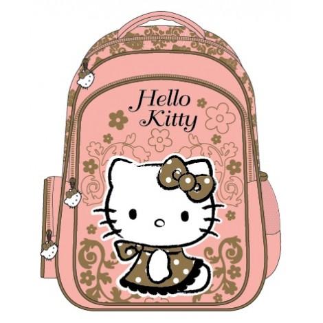 "Hello Kitty (9009) School Bag 15"" Rococo Bag Pack HK305-1090"