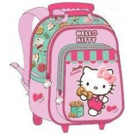 "Hello Kitty School Bag 15"" Sweet Store Trolley HK308-1003B"