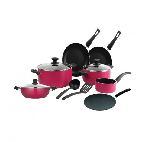 Homeway 12Pcs Non Stick Cooking Set