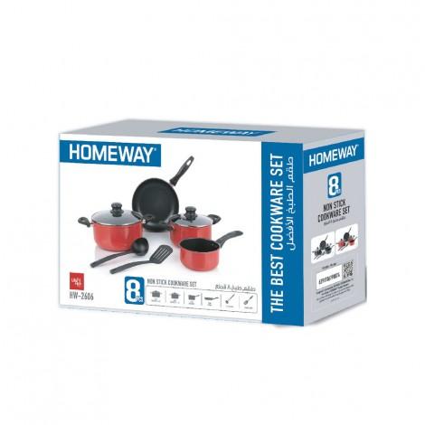Homeway 8pcs Non Stick Cooking Set