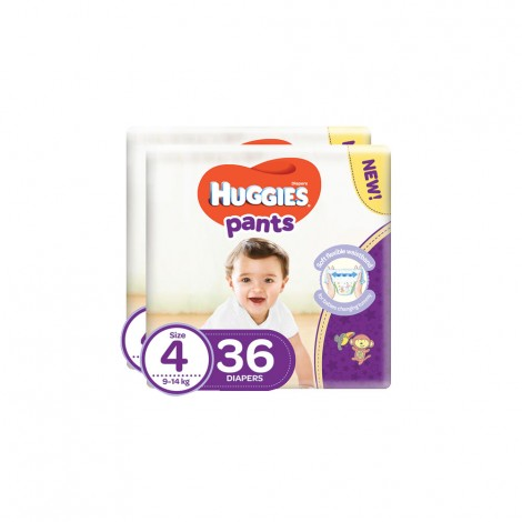 Huggies Pants(4) - 2x36's