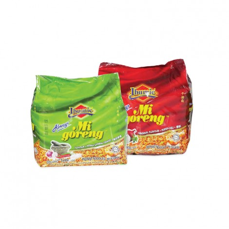 Ibumie Mi Goreng Noodles 10x80gm