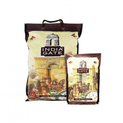 India Gate Basmati Rice 10Kg+2Kg