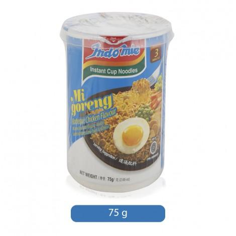 Indomie Barbeque Chicken Flavor Instant Cup Noodles - 75 g