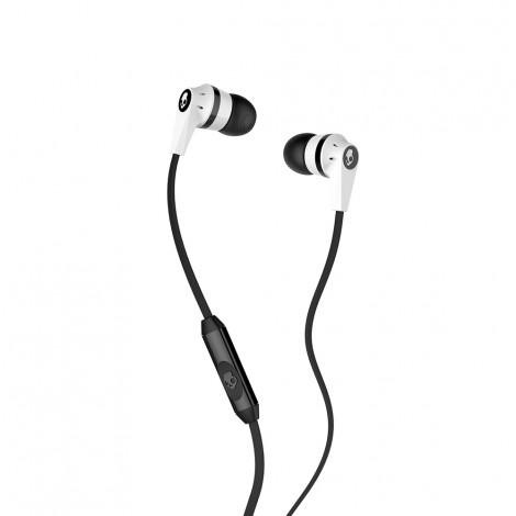 Skullcandy Ink'D In Ear Headphone With Mic White/Black S2IKFY-074