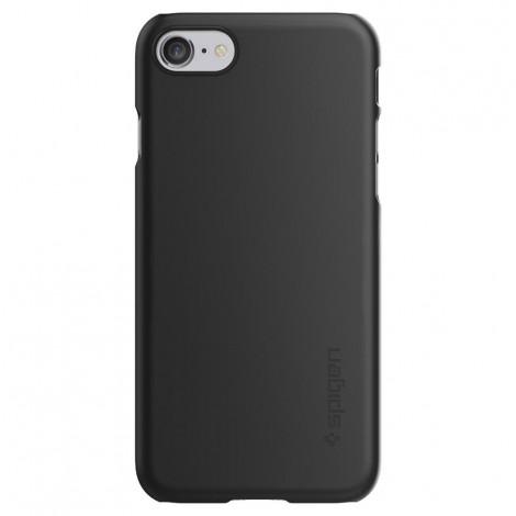 Spigen Case Thin Fit Black For Iphone 7 042CS20427