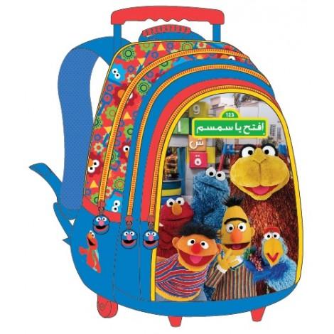 """Iftah Ya Sim Sim School Bag 18"""" Trolley IFT01-1004"""