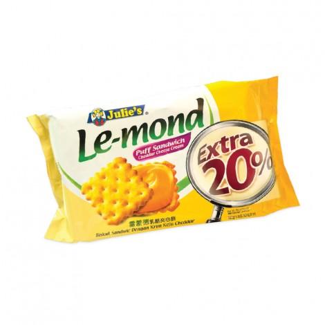 Julie's Le-Mond Puff Sandwich - Cheddar Cheese Cream - 180gm