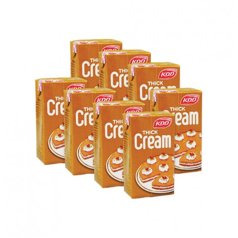 KDD Qishta Thick Cream 8x125ml
