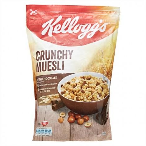 Kellogg'S Crunchy Muesli Chocolate 600g