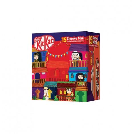 Kit Kat Chunky Mini Limited Edition 240gm