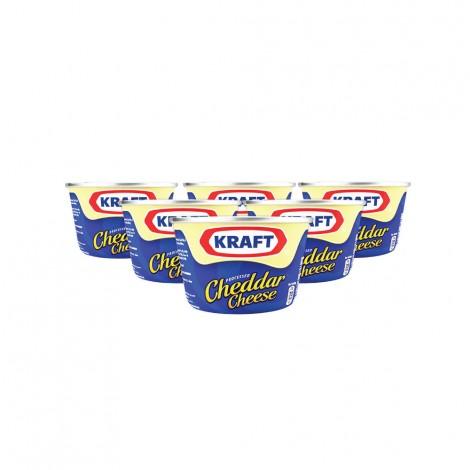 Kraft cheddar Can 6x100gm