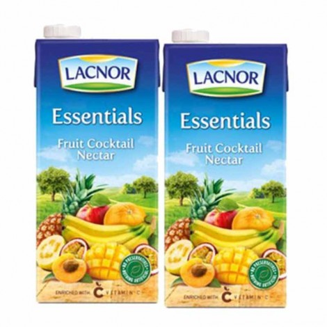Lacnor Pure Juice Mix Fruit - 2x1 Ltr