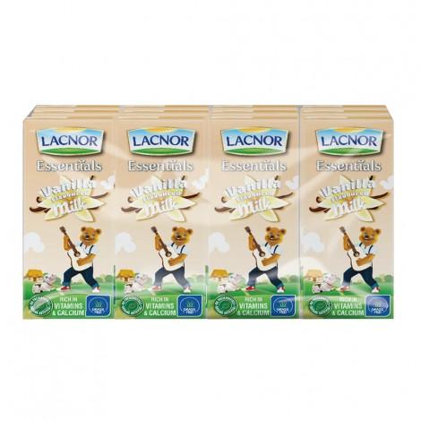 Lacnor Flavored Milk Vanilla - 12x180ml