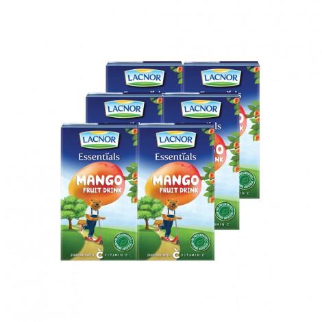 Lacnor Mango Juice - 6x125ml