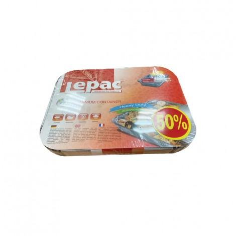 Lepac Aluminium Container 10+5 Free (8389)