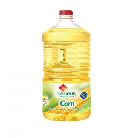 Lesieur Corn Oil - 3Ltr