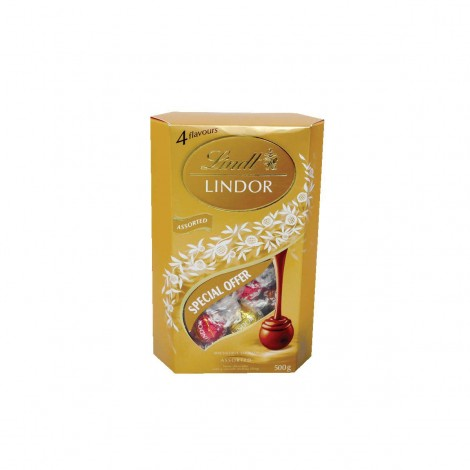 Lindt Lindor Milk Chocolate Balls 500gm