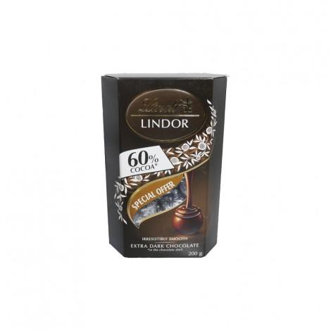 Lindt Lindor Dark 60% - 200gm