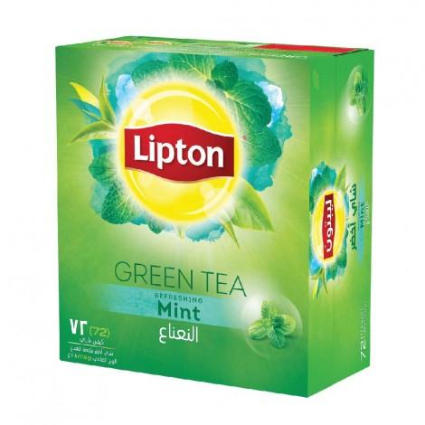 Lipton Green Tea Mint 72 Tea bag