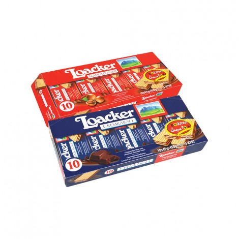 Loacker Waffers 2x175gm