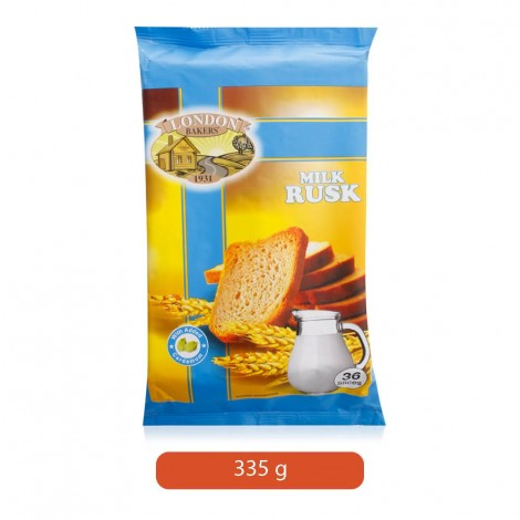 London Bakers Milk Rusk - 335 g