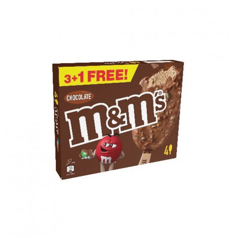 M&M's Chocolate Ice Stick 3+1x63gm