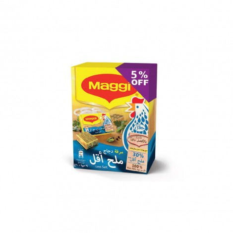 Maggi Chicken Cubes Low Salt 24x20gm