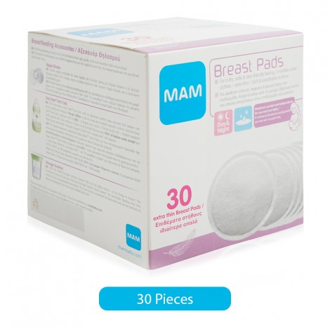Mam Breast Pads - 30 Pieces