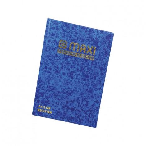 Maxi Register Book A4