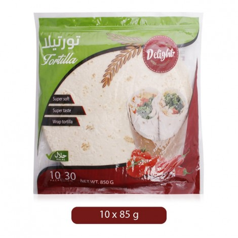 Mayamen Whole Wheat Tortilla - 10 x 85 g