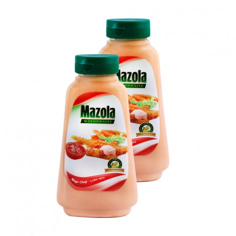 Mazola Mayonaise chup, 2x340ml