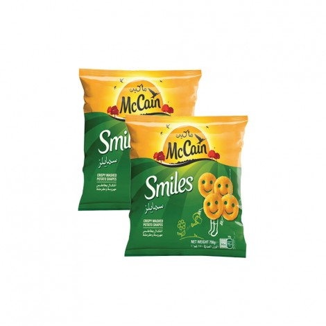 McCain Smile Fries For Kids 2x750gm