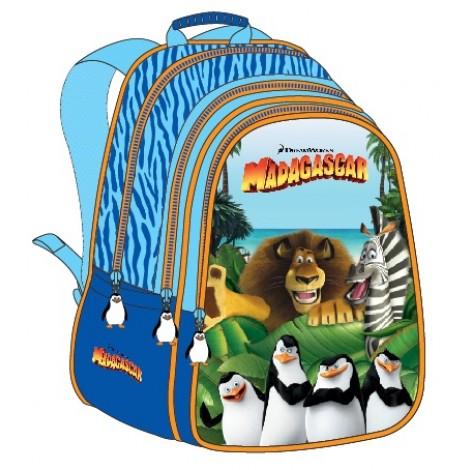 """Madagascar (7890) School Bag 17"""" BackPack  MD02-1008"""
