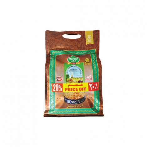 Mehran Long Grain Super Sella Rice5kg