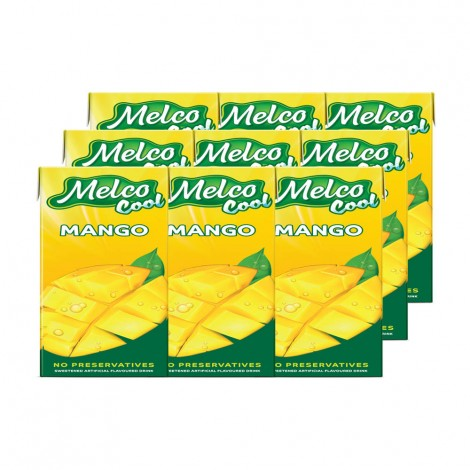 Melco Cool Mango Juice - 9x250ml