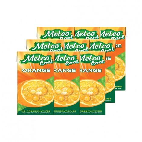 Melco Cool Orange Juice - 9x250ml