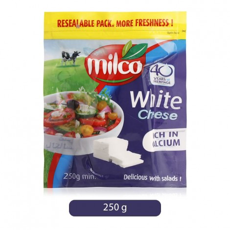Milco White Feta Cheese - 250 g
