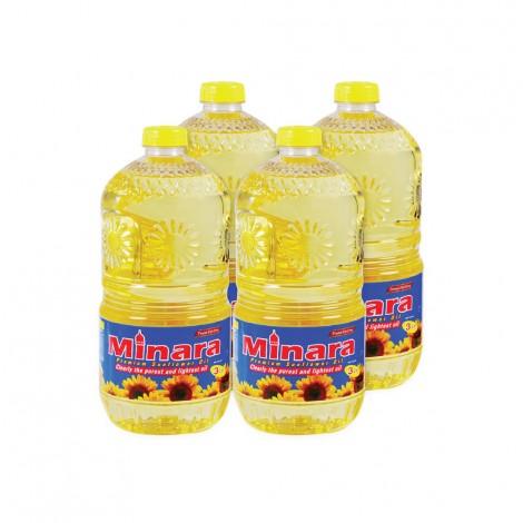 Minara Sunflower Oil 4x3Ltr