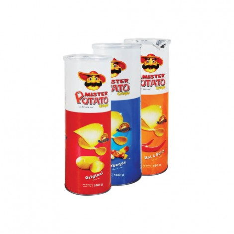 Mister Potato Chips Assorted 3x 160gm