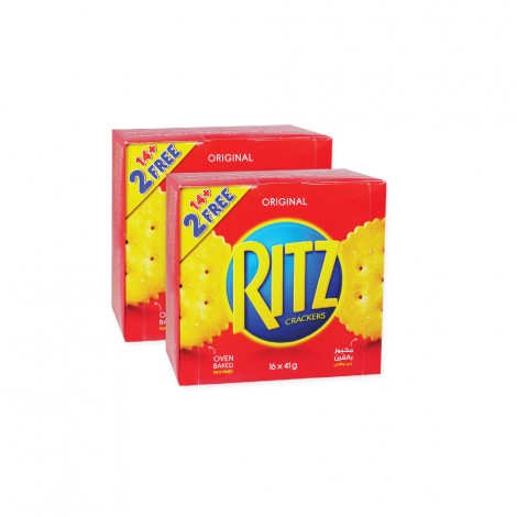 Mondelez Ritz Crackers 2x16x41gm