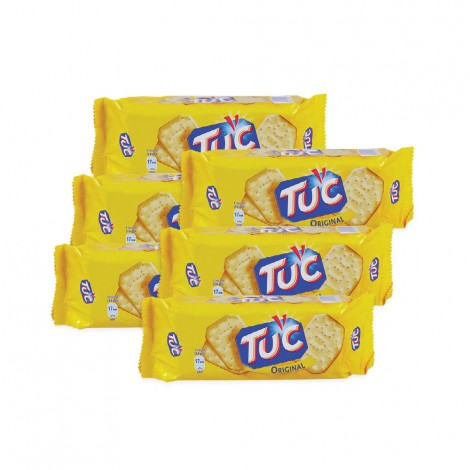 Tuc Salted Crackers - 2x(3x100gm)