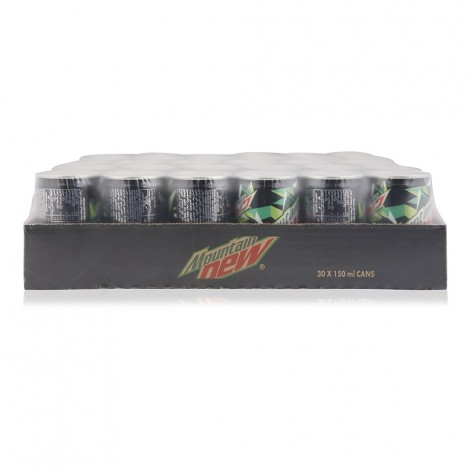 Mountain Dew Mini Soft Drink - 30 x 150 ml