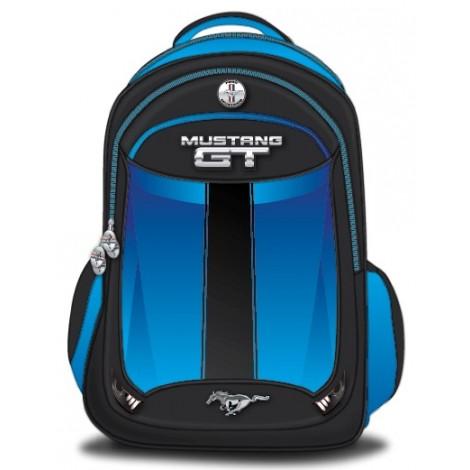 "Mustang School Bag 19"" Blue BackPack  MST37C-1121-19"