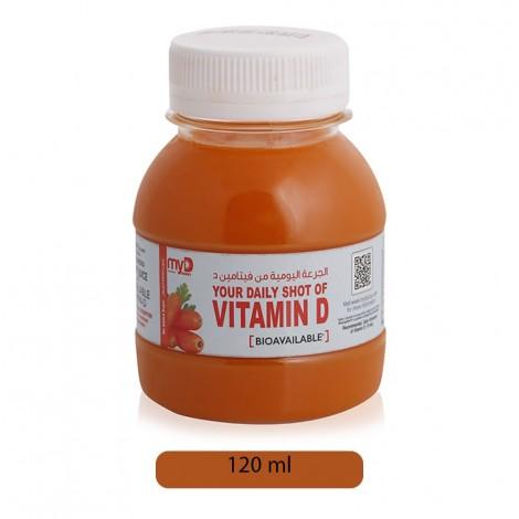 My D Carrot Juice - 120 ml