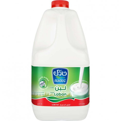 Nadec Fresh Laban Low Cream 3 Ltr